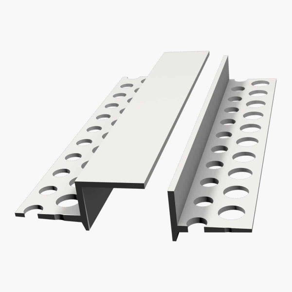 Profilé décoratif, TEMPOLISTEL A128 Joint de dilatation pour faux-plafond