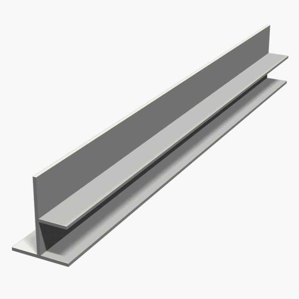 Nouveau TEMPOLISTEL B104 Profilé de transition pour jonction faux plafond plaque de plâtre et démontable