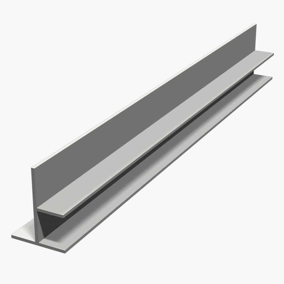 TEMPOLISTEL B104 Profilé de transition pour jonction faux plafond plaque de plâtre et démontable