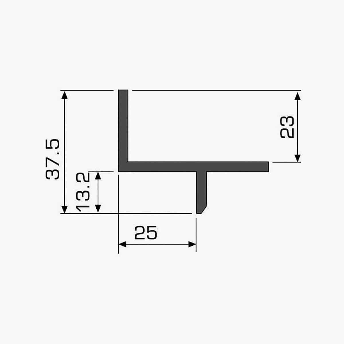 TEMPOLISTEL A112 Profilé décoratif dimensions