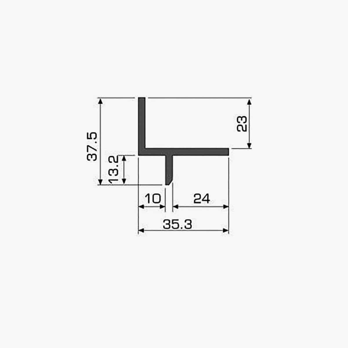 TEMPOLISTEL A114 Profilé décoratif dimensions