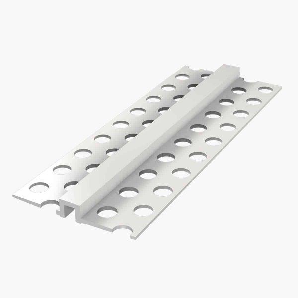 TEMPOLISTEL A104 Profilé joint creux - un joint creux horizontal ou vertical sur plaque de plâtre
