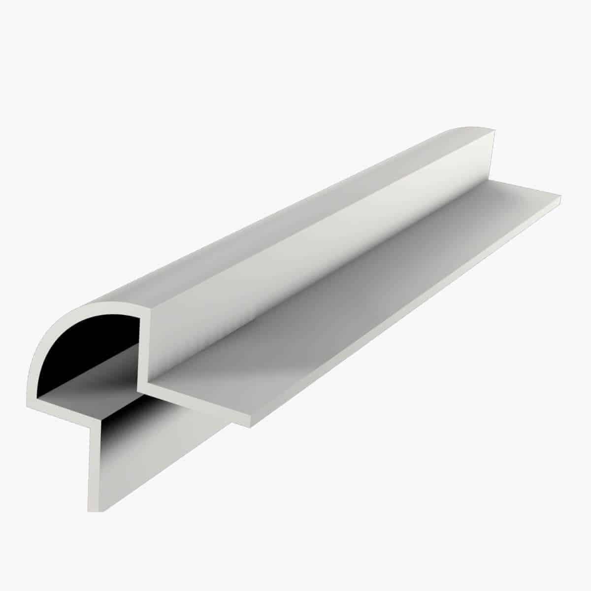 Profilé décoratif TEMPOLISTEL A109 Profilé protège angle arrondi pour cloison